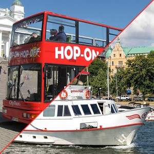 Hop-on Hop-off bussi & sightseeing-risteily 48 h