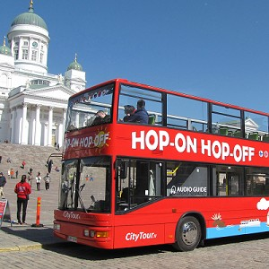 Hop-on Hop-off bussi